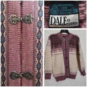 Dale Of Norway Cardigan Wool Sweater